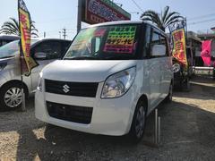 沖縄の中古車 スズキ パレット 車両価格 53万円 リ済込 平成21年 8.2万K パールホワイト