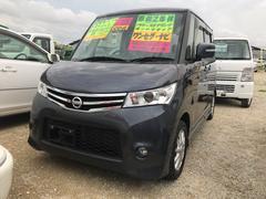 沖縄の中古車 日産 ルークス 車両価格 64万円 リ済込 平成24年 5.1万K グレー