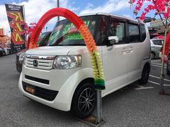 沖縄の中古車 ホンダ N BOX 車両価格 73万円 リ済込 平成24年 6.9万K パールホワイト