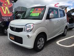 沖縄の中古車 日産 モコ 車両価格 39万円 リ済込 平成24年 9.1万K パールホワイト