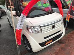 沖縄の中古車 ホンダ N BOX 車両価格 73万円 リ済込 平成24年 5.7万K パールホワイト