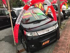 沖縄の中古車 スズキ ワゴンRスティングレー 車両価格 53万円 リ済込 平成23年 8.4万K ブラックM