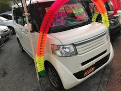 沖縄の中古車 ホンダ N BOX 車両価格 92万円 リ済込 平成25年 2.4万K パールホワイト