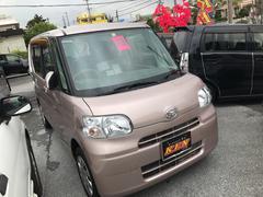 沖縄の中古車 ダイハツ タント 車両価格 49万円 リ済込 平成23年 7.2万K ピンクM