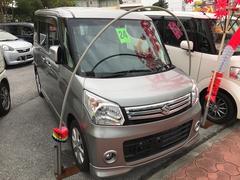 沖縄の中古車 スズキ スペーシア 車両価格 92万円 リ済込 平成26年 2.1万K グレーM
