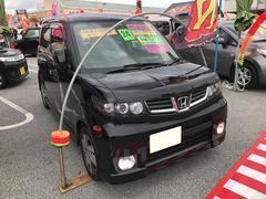 沖縄の中古車 ホンダ ゼストスパーク 車両価格 55万円 リ済込 平成24年 9.6万K ブラックM