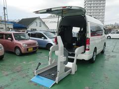 浦添市 ヒーローモータース トヨタ ハイエースバン 車いす仕様車 Bタイプ ホワイト 1.2万K 平成27年