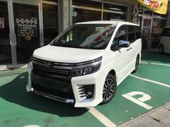 沖縄の中古車 トヨタ ヴォクシー 車両価格 285万円 リ済別 新車  パールホワイト