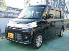 沖縄の中古車 スズキ スペーシアカスタム 車両価格 129万円 リ済込 平成27年 1.2万K ブラック