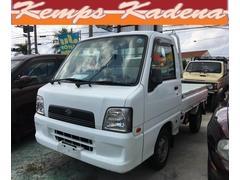 沖縄の中古車 スバル サンバートラック 車両価格 29万円 リ済込 平成16年 17.6万K ホワイト