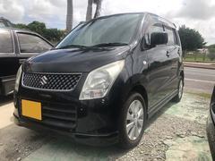 沖縄の中古車 スズキ ワゴンR 車両価格 29万円 リ済込 平成21年 14.4万K ブルーイッシュブラックパール3