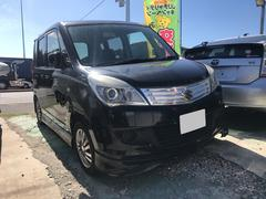 沖縄の中古車 スズキ ソリオ 車両価格 35万円 リ済込 平成23年 12.3万K ブラック
