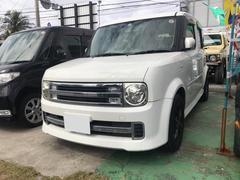 沖縄の中古車 日産 キューブ 車両価格 25万円 リ済込 平成20年 9.2万K パール