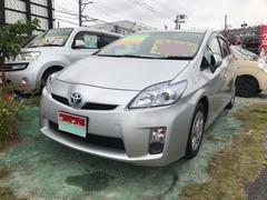 沖縄の中古車 トヨタ プリウス 車両価格 98万円 リ済込 平成23年 6.2万K シルバー