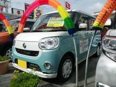 沖縄の中古車 ダイハツ ムーヴキャンバス 車両価格 154.4万円 リ済込 平成28年 14K グリーンII