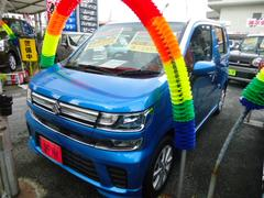 沖縄の中古車 スズキ ワゴンR 車両価格 140万円 リ済込 新車  ブルーM