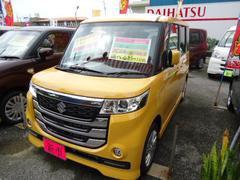 沖縄の中古車 スズキ スペーシアカスタムZ 車両価格 170万円 リ済込 新車  イエロー