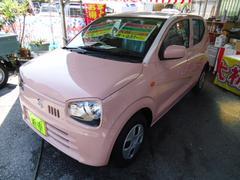 沖縄の中古車 スズキ アルト 車両価格 100万円 リ済込 新車  ピンクM