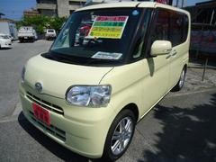 沖縄の中古車 ダイハツ タント 車両価格 55万円 リ済込 平成21年 8.9万K イエロー