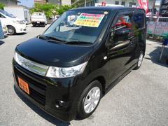 沖縄の中古車 スズキ ワゴンRスティングレー 車両価格 59万円 リ済込 平成22年 9.8万K Dブラック