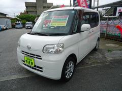 沖縄の中古車 ダイハツ タント 車両価格 59万円 リ済込 平成23年 11.4万K ホワイト