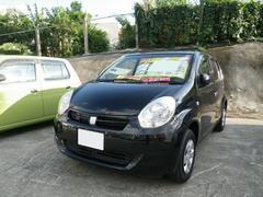 沖縄の中古車 トヨタ パッソ 車両価格 38万円 リ済込 平成22年 7.0万K ブラック