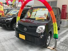 沖縄の中古車 日産 モコ 車両価格 61万円 リ済込 平成24年 3.1万K ブルーイッシュブラックP