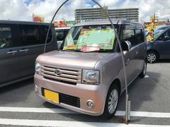 沖縄の中古車 ダイハツ ムーヴコンテ 車両価格 49万円 リ済込 平成21年 7.8万K ピンク