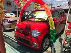 沖縄の中古車 ダイハツ ミラココア 車両価格 61万円 リ済込 平成22年 7.8万K レッド