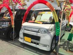 沖縄の中古車 ダイハツ タント 車両価格 71万円 リ済込 平成21年 7.3万K パール
