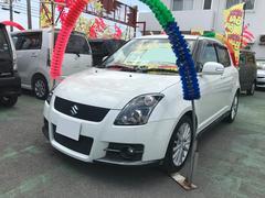 沖縄の中古車 スズキ スイフト 車両価格 55万円 リ済込 平成21年 8.7万K ホワイトパール