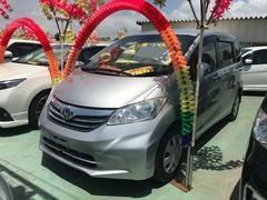 沖縄の中古車 ホンダ フリード 車両価格 76万円 リ済込 平成24年 8.5万K シルバー