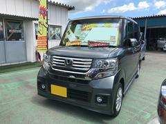 沖縄の中古車 ホンダ N BOXカスタム 車両価格 105万円 リ済込 平成24年 4.4万K グレー