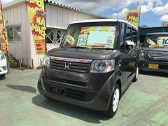 沖縄の中古車 ホンダ N BOX+ 車両価格 88万円 リ済込 平成24年 7.4万K ブラウンII