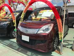 沖縄の中古車 スズキ ソリオ 車両価格 82万円 リ済込 平成24年 2.7万K クラッシーレッドパール