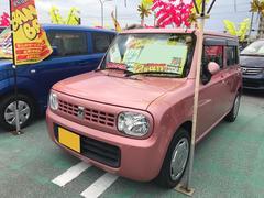 沖縄の中古車 スズキ アルトラパン 車両価格 54万円 リ済込 平成23年 6.9万K ピンク