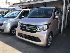 沖縄の中古車 ホンダ N−WGN 車両価格 81万円 リ済込 平成26年 3.3万K ピンク