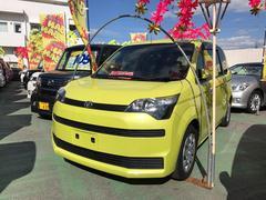 沖縄の中古車 トヨタ スペイド 車両価格 61万円 リ済込 平成25年 8.2万K イエロー