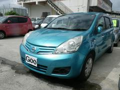 沖縄の中古車 日産 ノート 車両価格 35万円 リ済別 平成21年 8.6万K ライトブルー