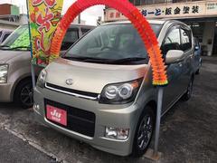 沖縄の中古車 ダイハツ ムーヴ 車両価格 36万円 リ済込 平成19年 4.4万K ゴールド
