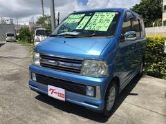 沖縄の中古車 ダイハツ アトレーワゴン 車両価格 29万円 リ済別 平成16年 9.6万K ブルー
