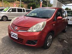 沖縄の中古車 日産 ノート 車両価格 35万円 リ済別 平成22年 9.9万K レッド