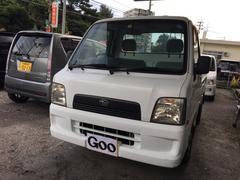沖縄の中古車 スバル サンバートラック 車両価格 29万円 リ済別 平成16年 8.8万K ホワイト