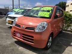 沖縄の中古車 日産 モコ 車両価格 33万円 リ済別 平成23年 9.5万K オレンジ