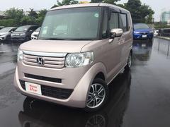 沖縄の中古車 ホンダ N BOX 車両価格 119.8万円 リ済別 平成26年 4.4万K ピンクメタリック