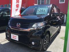 沖縄の中古車 ホンダ N−WGNカスタム 車両価格 124.8万円 リ済別 平成27年 2.3万K ブラック