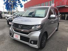 沖縄の中古車 ホンダ N−WGNカスタム 車両価格 136.8万円 リ済別 平成28年 0.9万K シルバー