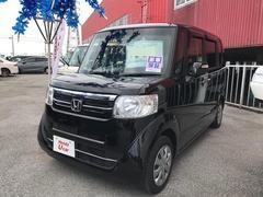 沖縄の中古車 ホンダ N BOX 車両価格 133.8万円 リ済別 平成28年 1.3万K ブラック