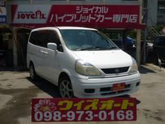 沖縄の中古車 日産 セレナ 車両価格 19万円 リ済別 平成12年 6.3万K ホワイト