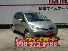 沖縄の中古車 三菱 コルト 車両価格 19万円 リ済別 平成18年 13.3万K シルバー